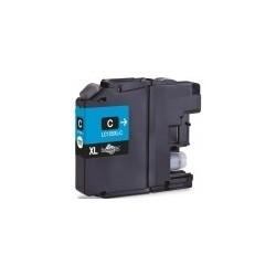 Tinteiro Brother Compatível LC125XL / LC123M Cyan