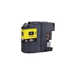 Tinteiro Brother Compatível LC125XL / LC123M Yellow