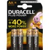DURACELL PLUS POWER AA 4 PACK MN1500B4