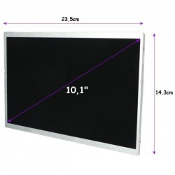 DISPLAY 10,1 LED WSVGA GLOSSY (LEFT)