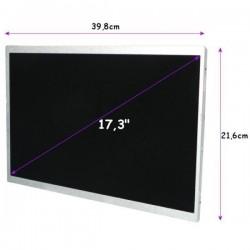 "DISPLAY LCD 17.3 ""(CCFL) 1920x1080 GLOSSY, Full HD-40pin"