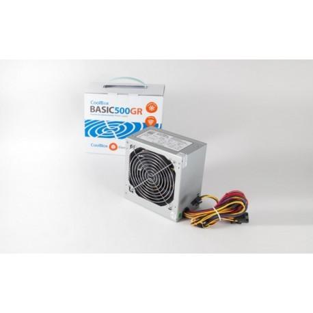 FONTE ALIMENTAÇÃO COOLBOX BASIC 500 WATTS 120MM
