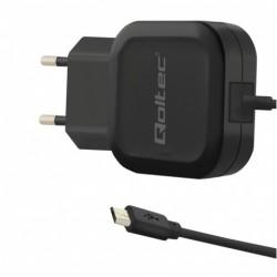 Carregador Qoltec 12W 5V 2.4A Micro USB - 50181