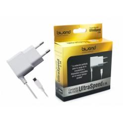 Carregador Micro USB UltraSpeed 2.1A Branco Biwond