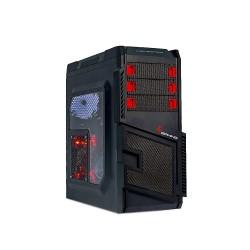 Caixa 4Gaming Zeus Vermelha