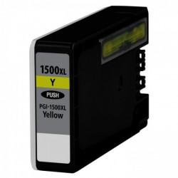 Tinteiro Canon Maxify Compatível PGI-1500 XL Amarelo