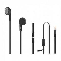 Auriculares de Ouvido c/ microfone | Preto TG50805