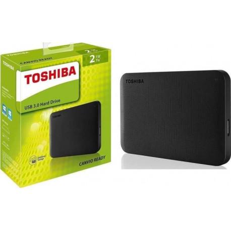 Disco Toshiba 2,5P 2TB USB3.0 CANVIO BASICS BLACK ( TAXA CÓPIA PRIVADA JÁ INCLUÍDA )