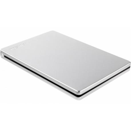 "Disco Externo Toshiba 2.5"" 2TB CANVIO SLIM Silver ( TAXA CÓPIA PRIVADA JÁ INCLUÍDA )"