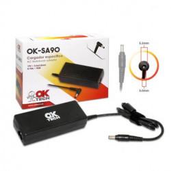 Carregador Samsung 90W OkTech OK-SA90 19V 4.74A 5.5x30 Compativel