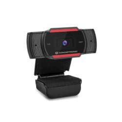 WEBCAM Conceptronic Webcam Full HD 1080P AMDIS04R C/ Microfone