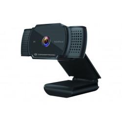 WEBCAM Conceptronic Webcam 2K SUPER HD AMDIS02B C/ Microfone AutoFocus