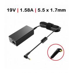 Carregador Portatil 19V 1.58A 30W 5.5*1.7mm TGADM0 Compativel C/ cabo