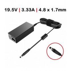 CARREGADOR Compatível HP 65W /19.5V /3.33A / 4.8X1.7mm