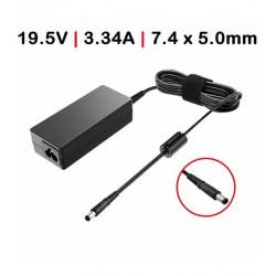 CARREGADOR Compatível DELL 65W /19.5V /3.34A / 7.4X5.0