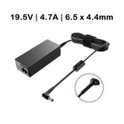CARREGADOR Compatível Sony 90W /19.5V / 4.7A / 6.5X4.4mm