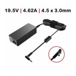 CARREGADOR Compatível Qoltec p/ HP 90W 19.5V 4.62A 4.5*3.0+pin TG50052