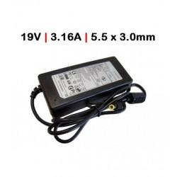 CARREGADOR Compatível Samsung 65W/19V/3.16A/5.5*3.0mm/