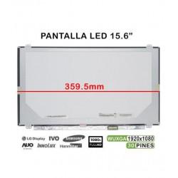 "DISPLAY LED IPS FULL HD de 15,6 ""LP156WF4 (SP) (B1) LP156WF4-SPB1 LP156WF6"