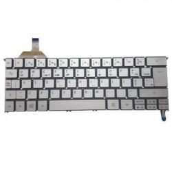 Teclado Acer S7 S7-191 S7-192 Retroiluminado Prata TGTACER012