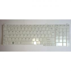 Teclado Toshiba Satellite / Pro C650 C660 L650 L670 L750 L755 L775 Branco TGTTOSH029