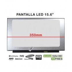 "DISPLAY 15.6"" LED N156HGA-EA3 REV.C4 FULL HD 350MM S/ BRACELETES TGPAN0042"