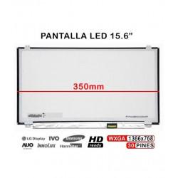 """DISPLAY 15.6"""" LED N156HCE-EN1 HD 350MM Com BRACELETES TGPAN0109"""