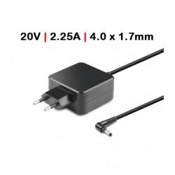 Carregador Compativel Lenovo 45W 20V 2.25 SlimTip + pin TG50098