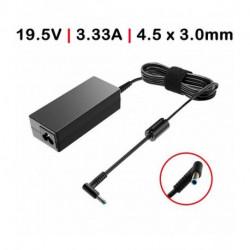 CARREGADOR Compatível HP Ultrabook 45W / 19.5V / 2.37A / 4.5X3.0