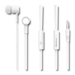 Auriculares C/ Microfone Qoltec TG50832 Branco