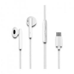 Auriculares C/ Microfone Qoltec USB TIPO C TG50830