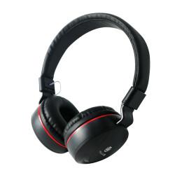 Auscultadores C/ Microfone HPH-5005 Preto TGHPH-5005-BLK