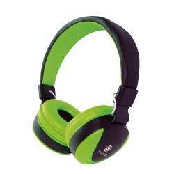 Auscultadores C/ Microfone HPH-5005 Verde TGHPH-5005-GRE
