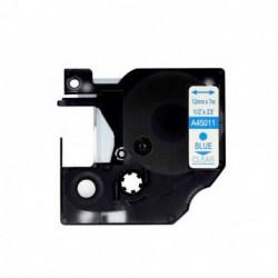 Fita Compatível Dymo D1 45011 - 12mm x 7 metros Azul/Transparente S0720510
