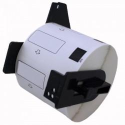 Etiquetas Compativeis Brother DK11221 23mm x 23mm pré-cortadas quadradas Papel térmico