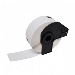 Etiquetas Compativeis Brother DK11218 24mm x 24mm pré-cortadas circulares Papel térmico