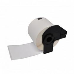 Etiquetas Compativeis Brother DK11209 62mm x 29mm pré-cortadas de direção pequenas Papel térmico