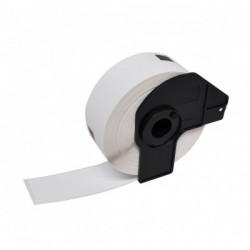 Etiquetas Compativeis Brother DK11219 12mm x 12mm pré-cortadas circulares Papel térmico