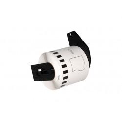 Etiquetas Compativeis Brother DK22113 Transparente - 62mm x 15.24mm Contínua Papel térmico