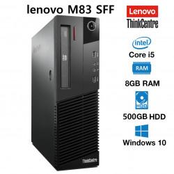 PC LENOVO M83 I5-4470 / 8GB / 500HDD / W7PRO RECOND.