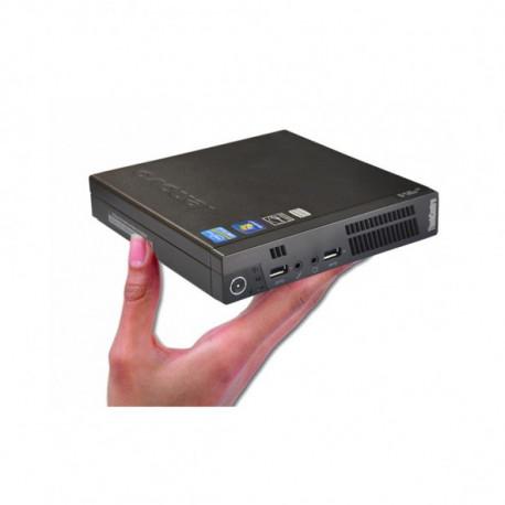 PC LENOVO M72E TINY I3-3220T / 8GB / 128SSD / W7PRO RECOND