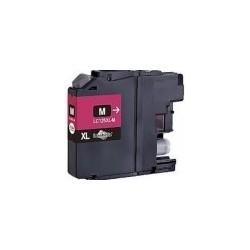 Tinteiro Brother Compatível LC125XL / LC123M magenta
