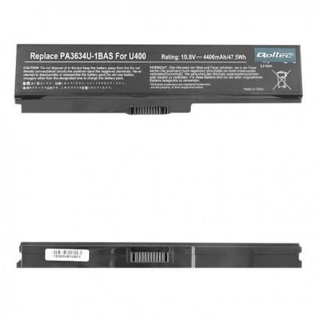 Bateria Comp. Toshiba PA3634, 4400mAh, 10.8-11.1V REF. 7275