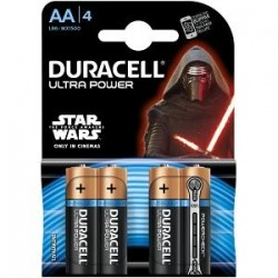 DURACELL ULTRA POWER AA 4 PACK MX1500B4