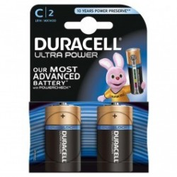 DURACELL ULTRA POWER 9V MX1400 LR14