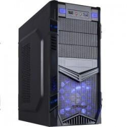 CAIXA ATX GAMING HALFMMAN HLF-CT-11ABU BLACK / BLUE