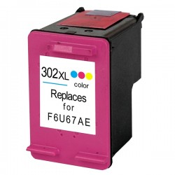 TINTEIRO HP 302XL COLOR REMAN