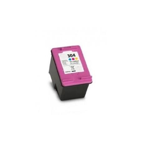 TINTEIRO HP 304XL CORES REMAN N9K07AE