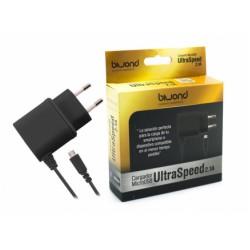 Carregador Micro USB UltraSpeed 2.1A Preto Biwond