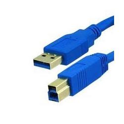 Cabo Gembird CCP-USB3-AMBM-6 USB 3.0 P/ iMPRESSORA 1.8m